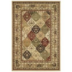 Lyndhurst Collection Multicolor/ Beige Rug (9' x 12') Safavieh 7x9   10x14 Rugs