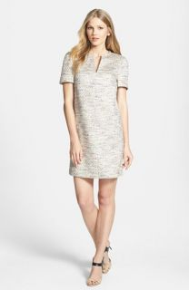Ted Baker London Metallic Woven Tunic Dress