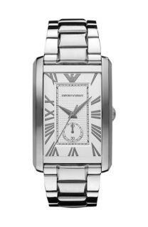 Emporio Armani Classic   Large Rectangular Dial Watch, 31mm