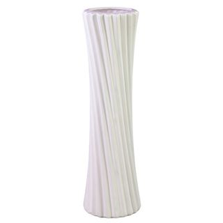 White Ceramic Vase Urban Trends Collection Vases