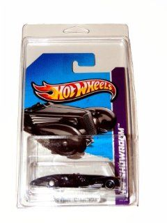 2013 Hot Wheels Custom Cadillac Fleetwood Black 185/250 Worldwide Case Card in Clear Protector Case Toys & Games
