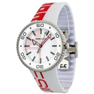 MOMO Design Jet Red and White Dial Rubber Mens Watch 187 RB VT 18WTRD Momo Design Watches