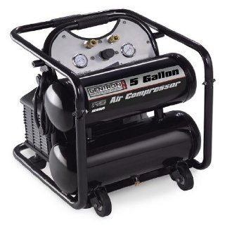 Gentron 5 Gallon Twin Tank Air Compressor  Generator Accessories  Patio, Lawn & Garden