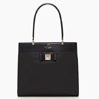 Kate Spade Bow Terrace small fulton  Black Kate Spade Designer Handbags