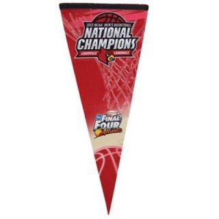 Louisville Cardinals 2013 NCAA Mens Basketball National Champions 17 x 40 Premium Felt Pennant