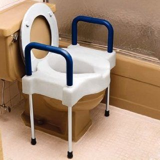 Sammons Preston Extra Wide Tall Ette Elevated Toilet Seat with Legs (SP4 557579 Standard, 350 lb.) Health & Personal Care