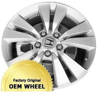 HONDA ACCORD 17x7.5 Factory Oem Wheel Rim  MACHINED FACE GREY   Remanufactured Automotive
