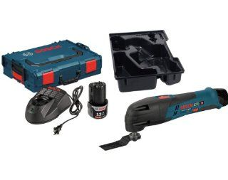 Bosch SCK120 202LB6 12 Volt Starter Kit with Bare Tool Multi X Oscillating Tool Bundle Kit   Power Oscillating Tools