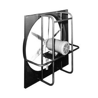 Marley  WED30L330 Inch Heavy Duty Direct Drive Exhaust Wall Fan  Totally Enclosed Motor  12, 000 CFM  208/230/480 Volt 3 Phase   Built In Household Ventilation Fans