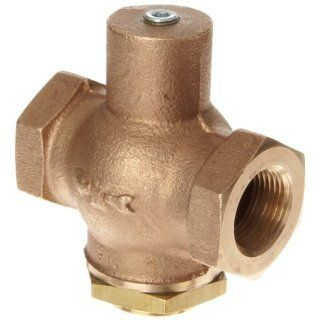 Kingston 205 Series Brass Horizontal Anti Hammering Check Valve, NPT Female