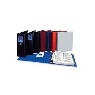 "Avery Consumer Products Products   3 Ring EZD Binder, 4"" Capacity, 8 1/2""x11"" Maroon   Sold as 1 EA   Heavy duty binder features One Touch EZD rings that open with ease and keep pages secure. Gap Free ring feature prevents gapping and misali"