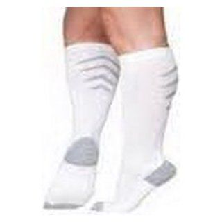 Athletic Recovery Socks For Women, Calf, Sz D, Wht [1 Pair] Health & Personal Care