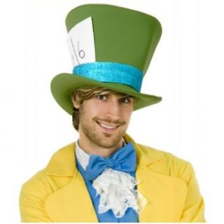 Green Mad Hatter Hat Costume Accessory Clothing