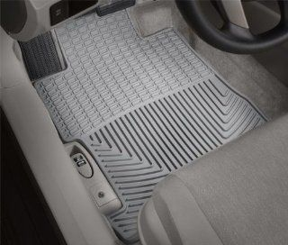 WeatherTech (W222GR) Floor Mat, Rubber, Front, Gray Automotive