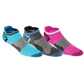ASICS� Quick Lyte Low Cut 3 Pack Socks   Womens   Running   Accessories   Neon Assorted