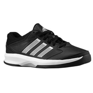 adidas Isolation Low   Mens   Basketball   Shoes   Black/Metallic Silver/White