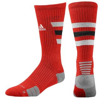 adidas Team Speed Traxion Crew Socks   Basketball   Accessories   University Red/White/Black