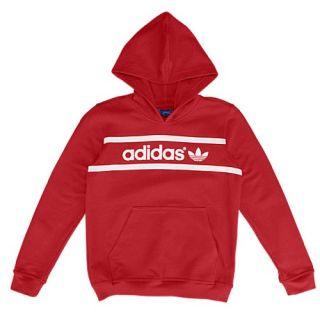 adidas Originals Graphic Hoodie   Youth   Casual   Clothing   University Red/White