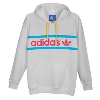 adidas Originals Heritage Logo Pullover Hoodie   Mens   Casual   Clothing   Bliss