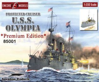 Encore Models USS Olympia Kit, Premium Edition Toys & Games