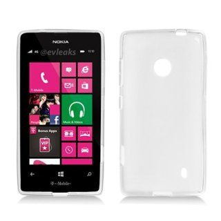 Silicone Skin Soft TPU Gel Cover Case For Nokia Lumia 520 521, Clear Cell Phones & Accessories