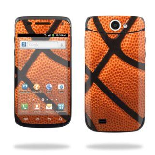 Protective Vinyl Skin Decal Cover for Samsung Exhibit II 4G Android Smartphone Cell Phone Sticker Skins Basketball Cell Phones & Accessories
