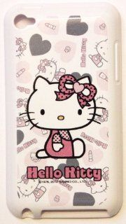 Apple iPod Touch 4th Generation iTouch 4 4G Sanrio Licensed Original HELLO KITTY (wearing cute polka dot bow) Soft SILICONE TPU Protector Case Cover + Free WirelessGeeks247 Metallic Detachable Touch Screen STYLUS PEN with Anti Dust Plug  Players &