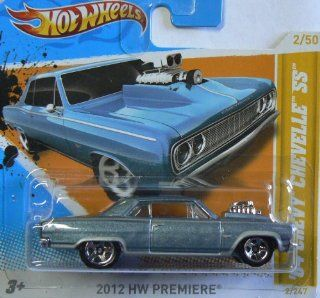 Hot Wheels 2012 HW Premiere (2/50) '64 Chevy Chevelle SS (2/247) Short Card