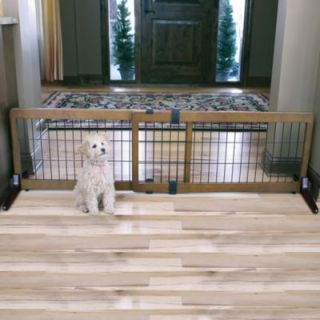 Buy Munchkin® Extra Wide Expanding Wood Gate from