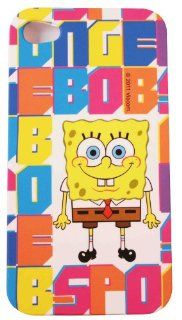 BUKIT CELL Nickelodeon TM SpongeBob SquarePants HARD BACK PIECE Faceplate Protector Case Cover (SpongeBob Multi Color) for Apple iPhone 4S / 4G / 4 (Fits any carrier AT&T, VERIZON AND SPRINT) + Free WirelessGeeks247 Metallic Detachable Touch Screen STY