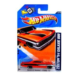 Hot Wheels 2012, Custom '64 Galaxie 500, Musclemania Ford '12, 113/247. 164 Scale. Toys & Games