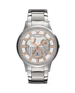 Emporio Armani Renato Stainless Steel Watch, 43mm's