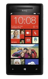 "HTC 8X C625b 16GB Unlocked GSM Phone with Windows 8 OS, 4.3"" HD Display, 8MP Camera, 1.5 GHz Qualcomm Dual Core Processor, Beats Audio, GPS, Wi Fi and Bluetooth   Black Cell Phones & Accessories"