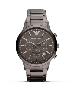 Emporio Armani 316 Stainless Steel Bracelet Watch, 43mm's