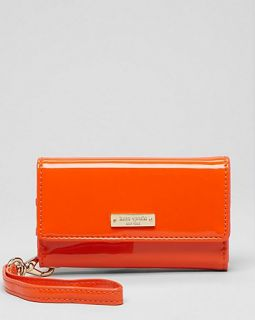 kate spade new york iPhone 5 Wristlet   Patent Solid's