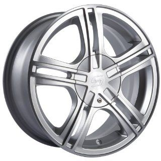 "Sacchi S62 262 Hypersilver Wheel with Machined Face (18x7.5"") Automotive"