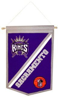 NBA Sacramento Kings Traditions Banner  Sports Fan Wall Banners  Sports & Outdoors