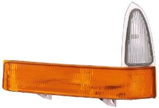 Eagle Eyes FR271 U100R Ford Passenger Side Park/Signal Lamp Lens and Housing Automotive