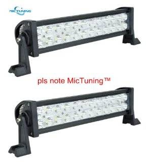 "MicTuning 2� HML B272 10 30V 13.5"" 72W LED lights bar Spot Beam Super Bright 5000 Lumen 4�4 off road ATV SUV Jeep Automotive"