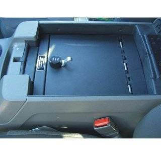 Console Vault Gun Safe for 2000 2006 Ford Expedition w/ Barrel Key Lock Automotive
