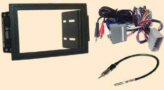 Radio Stereo Install Double Din Dash Kit + Steering control wiring + canbus wire harness + antenna adapter When Replacing a Navigation system in a Dodge Magnum (05 07), Ram (06 07), Commander (06 07)   Jeep Compass (07 08), Grand Cherokee (2005 2007), Patr
