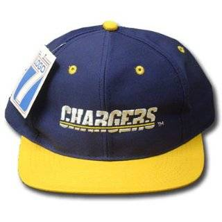NFL SAN DIEGO CHARGERS BLUE OLD SCHOOL VINTAGE HAT CAP Sports & Outdoors