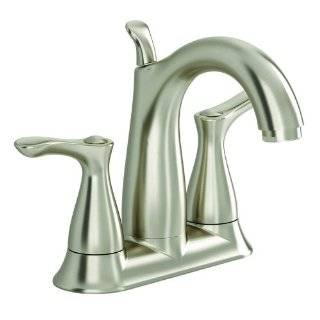 American Standard 9259201.295 San Sebastian 4 Inch Two Handle Lavatory Faucet, Satin Nickel