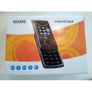 LG GU295 Black GSM QuadBand 3G Cell Phone Cell Phones & Accessories