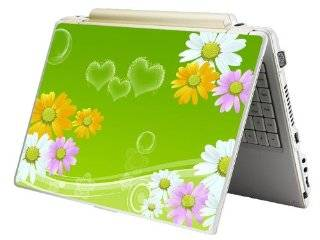 "Laptop Skin Shop 17 17.3 inch Laptop Notebook Skin Sticker Cover Art Decal Fits 16.5"" 17"" 17.3"" 18.4"" 19"" HP Dell Apple Asus Acer Lenovo Asus Compaq (Free 2 Wrist Pad Included) Sunflowers Floral Computers & Accessories"