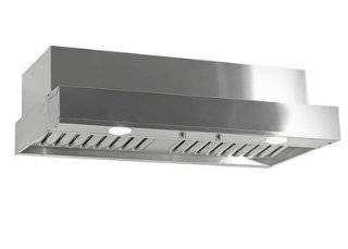 "Imperial C2060BP1 TWB SS Stainless Steel Insert C2000 Collection 60"" Wide Powered Range Hood Insert with 1065 CFM (1275 CFM with Airflow Boost) Twin Centrifugal Blowers and Baffle Filters Appliances"