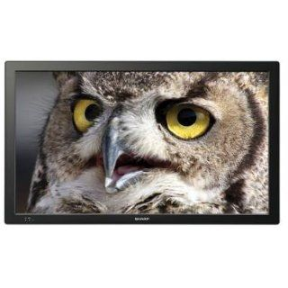 Sharp PN T321 32 LED LCD Monitor w/ Speakers   169 6.50 ms 1366 x 768 16.7 Million Colors 420 Nit 25001 DVI HDMI VGA USB Computers & Accessories