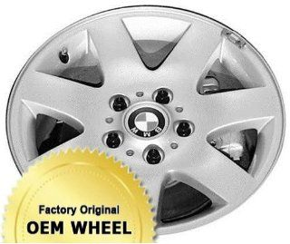 BMW 320,323,325,328,330,3 SERIES 16x7 7 SPOKE Factory Oem Wheel Rim  SILVER   Remanufactured Automotive