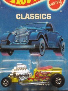 T Bucket 	1989 Hot Wheels Classics 	Yellow