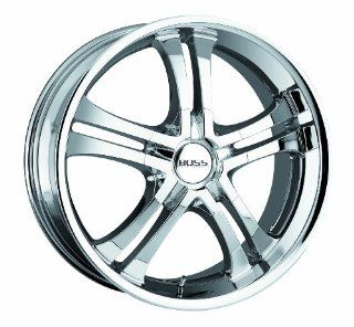 "Boss Motorsports 328 Black Chrome Wheel (18x8""/5x4.5"") Automotive"